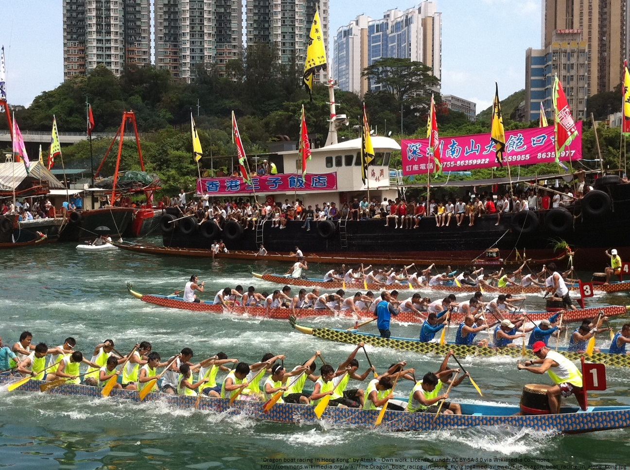dragon boat racing - HK