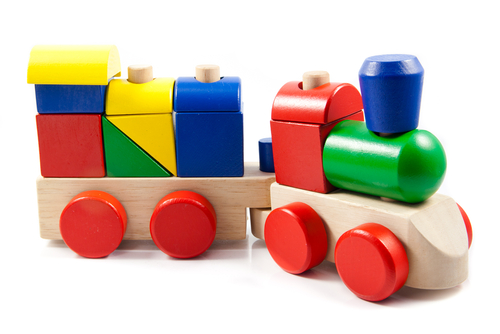 Toy and games translation - train