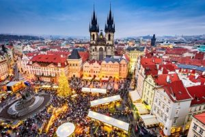 December - Christmas market Prague