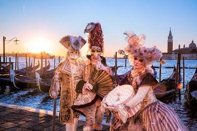 February - Venice carnival, Italy