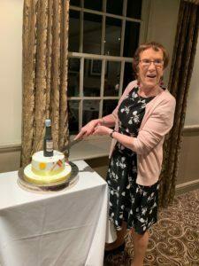 Sue retiring